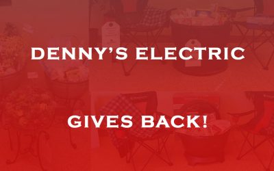 Denny's Electric Gives Back!