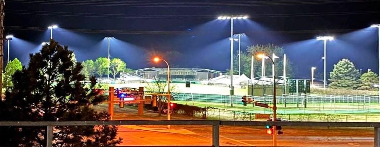 2021 Bismarck Larks Field Lights 2
